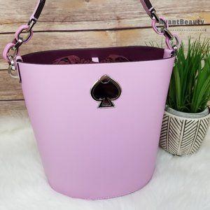 Sweet Pea Purple Suzy Small Bucket Kate Spade